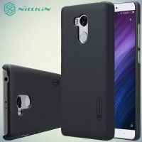 Чехол накладка Nillkin Super Frosted Shield для Xiaomi Redmi 4 Pro / Prime - Черный