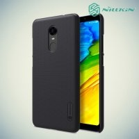 Чехол накладка Nillkin Super Frosted Shield для Xiaomi Redmi 5 Plus - Черный