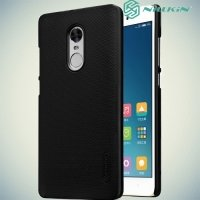 Чехол накладка Nillkin Super Frosted Shield для Xiaomi Redmi Note 4X - Черный