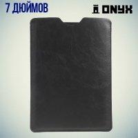 Чехол карман из экокожи для планшетов 7 дюймов