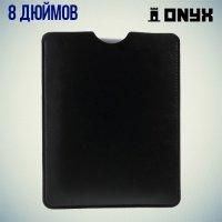 Чехол карман из экокожи для планшетов 8 дюймов
