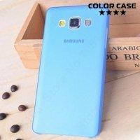 Тонкий чехол для Samsung Galaxy A3 - синий