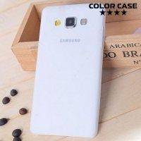 Тонкий чехол для Samsung Galaxy A3 - белый