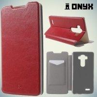 Чехол книжка для LG G4 H818 H815 - Красный