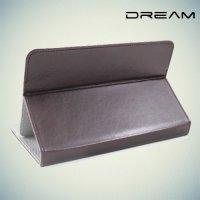 Чехол книжка для планшета 7 дюймов универсальный Dream - Коричневый