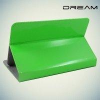 Чехол книжка для планшета 7 дюймов универсальный Dream - Зеленый