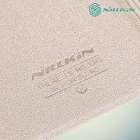 Чехол книжка для Samsung Galaxy A5 золотой - Nillkin Sparkle