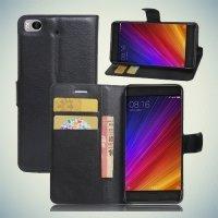 Чехол книжка для Xiaomi Mi 5s - Черный