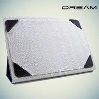 Чехол книжка универсальный для планшетов 10 дюймов тонкий Dream - Синий