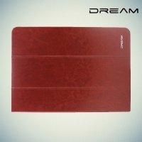 Чехол книжка универсальный для планшетов 10 дюймов тонкий Dream - Коричневый