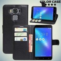 ColorCase флип чехол книжка для Asus Zenfone 3 Max ZC553KL - Черный