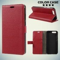 ColorCase флип чехол книжка для Asus Zenfone 4 ZE554KL - Красный
