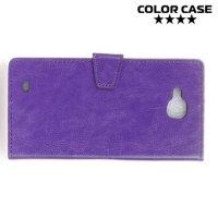 ColorCase флип чехол книжка для LG X Power 2 LGM320 - Фиолетовый