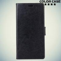 ColorCase флип чехол книжка для Meizu M5c - Черный