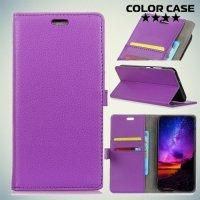 ColorCase флип чехол книжка для Nokia 2 - Фиолетовый