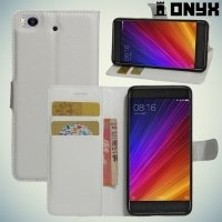 ColorCase флип чехол книжка для Xiaomi Mi 5s - Белый