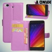 ColorCase флип чехол книжка для Xiaomi Mi 5s - Фиолетовый
