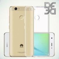 DF aCase силиконовый чехол для Huawei nova - Прозрачный