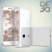 DF aCase силиконовый чехол для Huawei Y5 2017 / Y6 2017 - Прозрачный