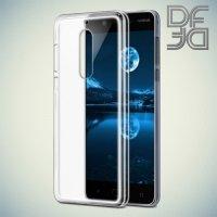 DF aCase силиконовый чехол для Nokia 5 - Прозрачный