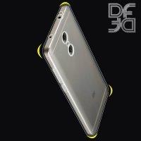 DF aCase силиконовый чехол для Xiaomi Redmi Note 4X - Прозрачный