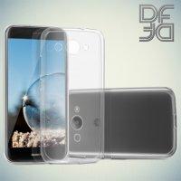 DF aCase силиконовый чехол для Huawei Y3 (2017) - Прозрачный