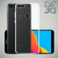 DF Case силиконовый чехол для Huawei Honor 7C Pro - Прозрачный