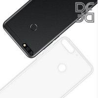 DF Case силиконовый чехол для Huawei Honor 7C - Прозрачный