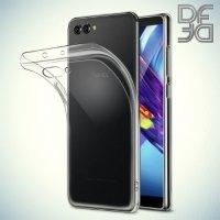 DF Case силиконовый чехол для Huawei Honor View 10 (V10) - Прозрачный