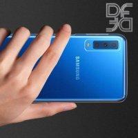 DF Case силиконовый чехол для Samsung Galaxy A7 2018 SM-A750F - Прозрачный