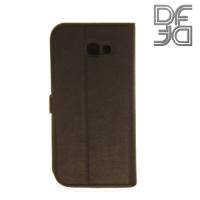 DF sFlip флип чехол книжка для Samsung Galaxy A7 (2017)  - Черный