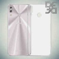 DF Ультратонкий прозрачный силиконовый чехол для Asus ZenFone 5Z ZS620KL