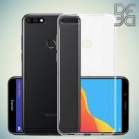 DF Ультратонкий прозрачный силиконовый чехол для Huawei Honor 7A Pro / 7C / Y6 Prime 2018