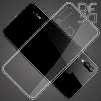 DF Ультратонкий прозрачный силиконовый чехол для Huawei Honor 8X Max