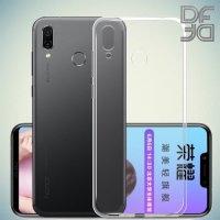 DF Ультратонкий прозрачный силиконовый чехол для Huawei Honor Play