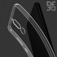 DF Ультратонкий прозрачный силиконовый чехол для Meizu M6T