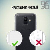 DF Ультратонкий прозрачный силиконовый чехол для Samsung Galaxy A6 2018 SM-A600F