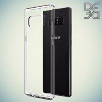 DF Ультратонкий прозрачный силиконовый чехол для Samsung Galaxy S10 Plus