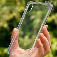 DF Ультратонкий прозрачный силиконовый чехол для Xiaomi Mi 7