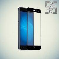 DF Закаленное защитное стекло на весь экран для Asus Zenfone 3 ZE552KL  - Черный