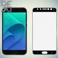 DF Закаленное защитное стекло на весь экран для Asus Zenfone 4 Selfie Pro ZD552KL - Черный