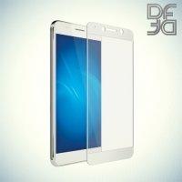 DF Закаленное защитное стекло на весь экран для Huawei Honor 6A - Белый