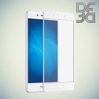 DF Закаленное защитное стекло на весь экран для Huawei Honor 6C - Белый