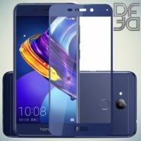 DF Закаленное защитное стекло на весь экран для Huawei Honor 6C Pro - Синий