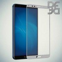 DF Закаленное защитное стекло на весь экран для Huawei Honor 7C Pro - Белый