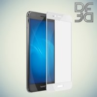 DF Закаленное защитное стекло на весь экран для Huawei Honor 8 Pro - Белый