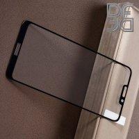 DF Закаленное защитное стекло на весь экран для Huawei Honor 8C - Черный