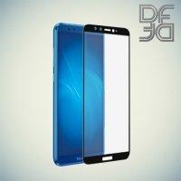 DF Закаленное защитное стекло на весь экран для Huawei Honor 9 Lite - Черный