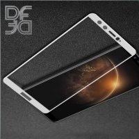 DF Закаленное защитное стекло на весь экран для Huawei Honor 9 Lite - Белый