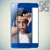 DF Закаленное защитное стекло на весь экран для Huawei Honor 9 - Синий